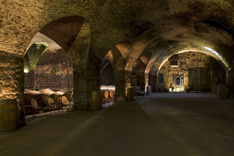 Vin�colas e restaurantes no Uruguai