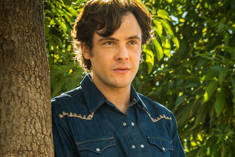 Sergio Guizé como o Gale de 'O Outro Lado do Paraíso' (Globo)