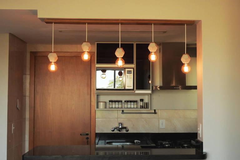 Luminárias feitas em casa