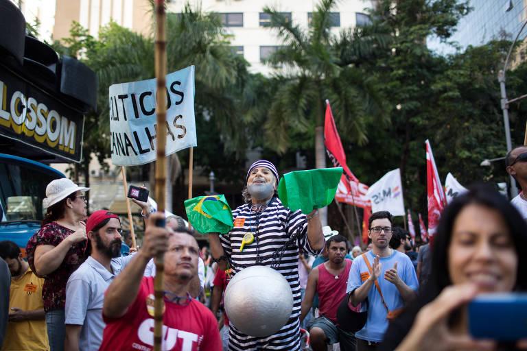 Protesto na Alerj