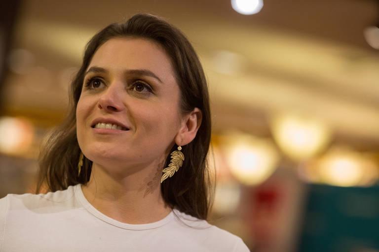 A atriz e apresentadora Monica Iozzi