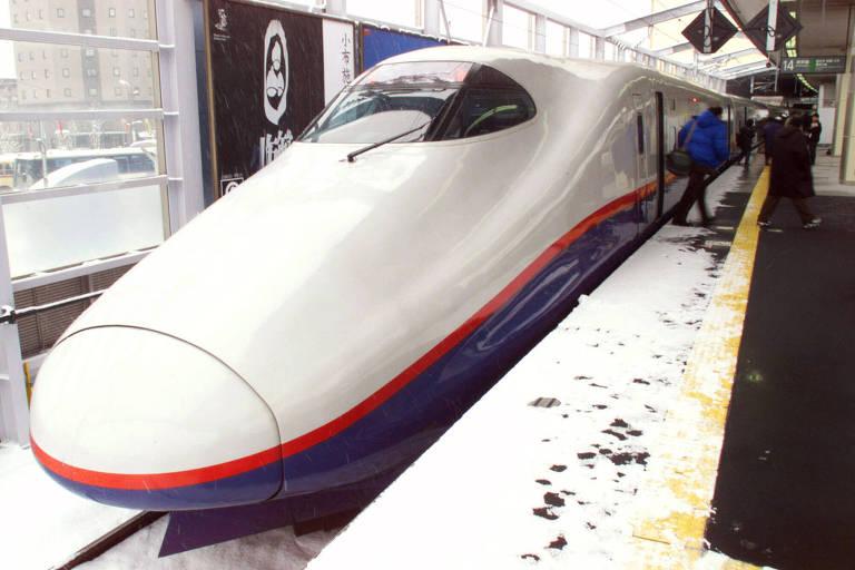 O transporte ferroviário japonês é famoso por sua pontualidade