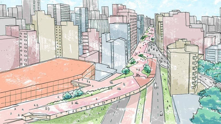 Como seria S�o Paulo hoje se os projetos de urbanismo tivessem sa�do do papel?