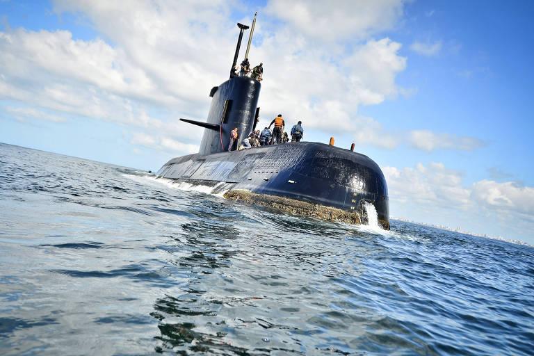 Submarino ARA San Juan – Juan Sebastian Lobos - 23.nov.2010/Xinhua