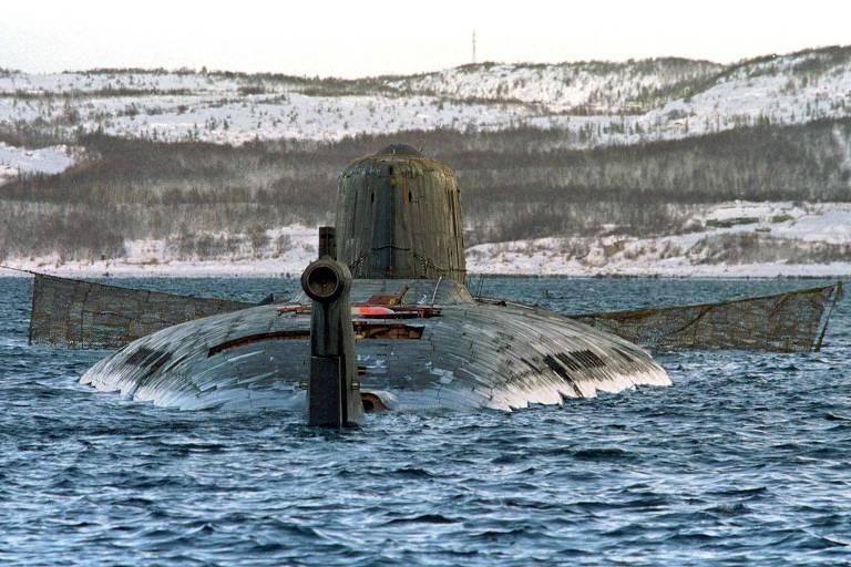 Submarino nuclear Kursk