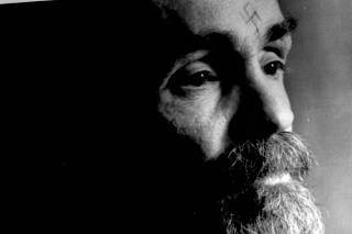 FILE PHOTO -  Charles Manson talks during an interview
