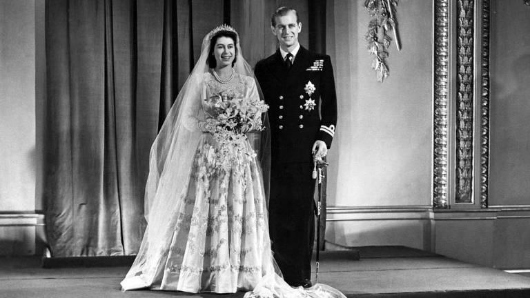 Rainha Elizabeth 2ª e príncipe Philip fazem 70 anos de casamento