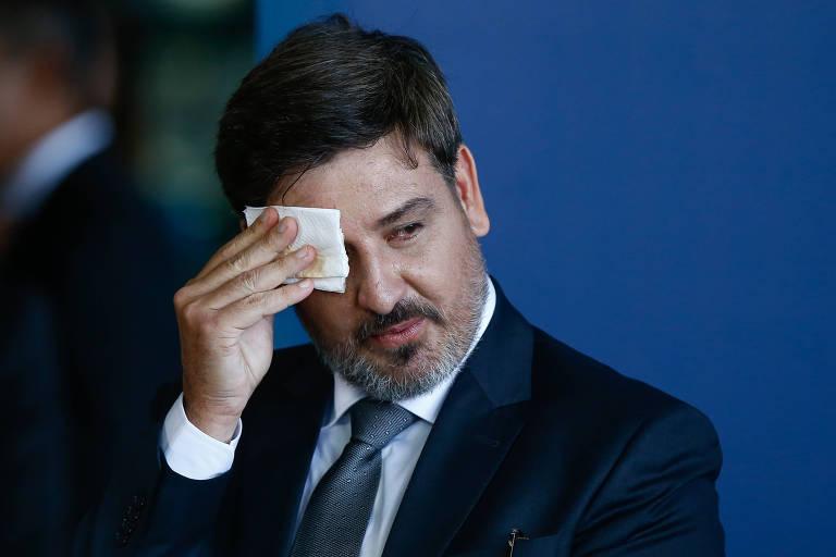 Posse do novo diretor da PF, Fernando Segovia