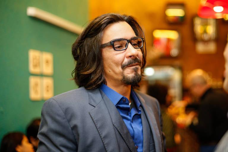 O ator André Gonçalves