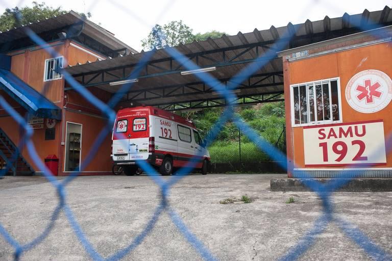 Base do Samu é roubada em São Paulo