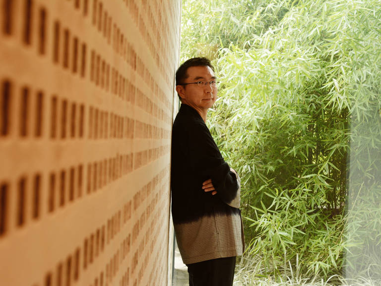 O arquiteto japonês Sou Fujimoto Karime Xavier/Folhapress