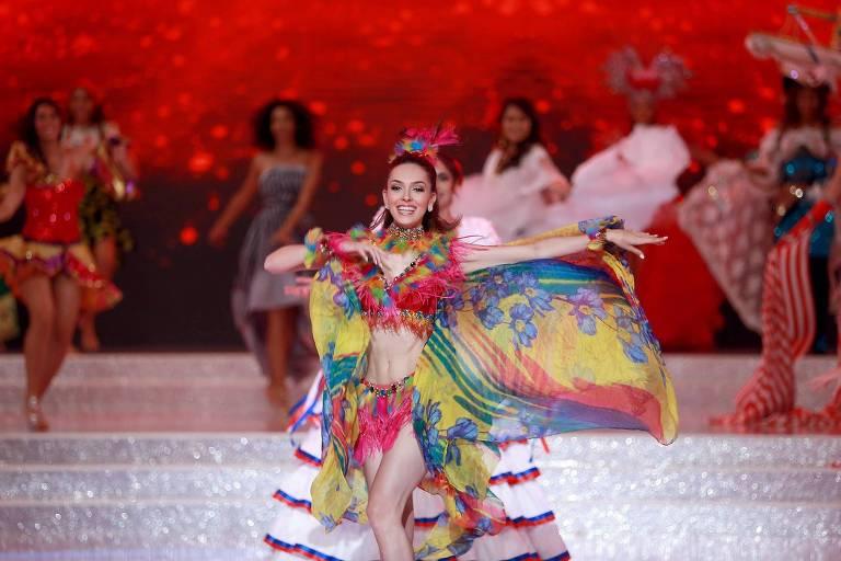 A brasileira Gabrielle Vilela ficou no Top 40 do concurso