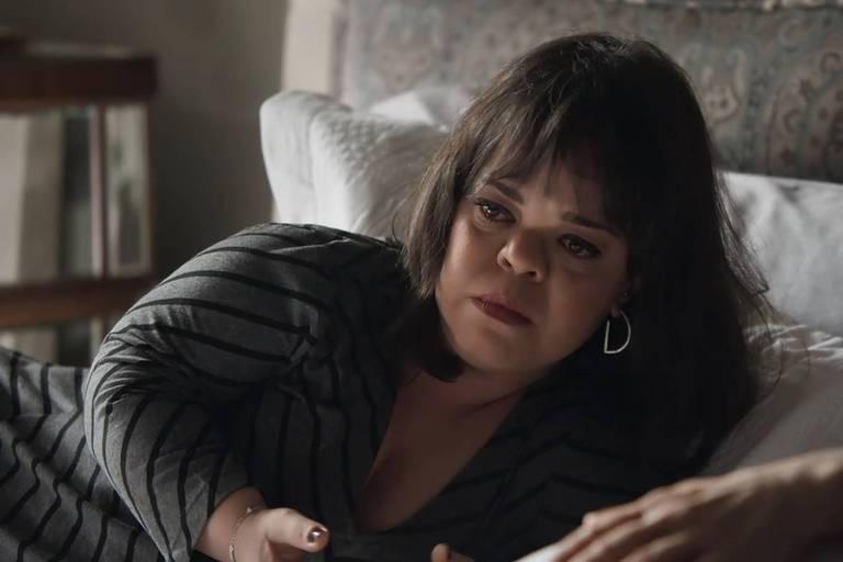 Juliana Caldas em cena da na novela 'Outro Lado do Paraíso'