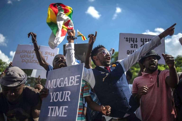A renúncia de Mugabe