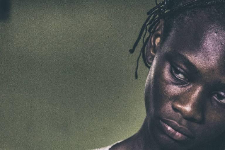 """""""Madona Negra"""" (2015), faz parte da exposição de fotos de Marcela Bonfim que retrata as populações negras da Amazônia"""