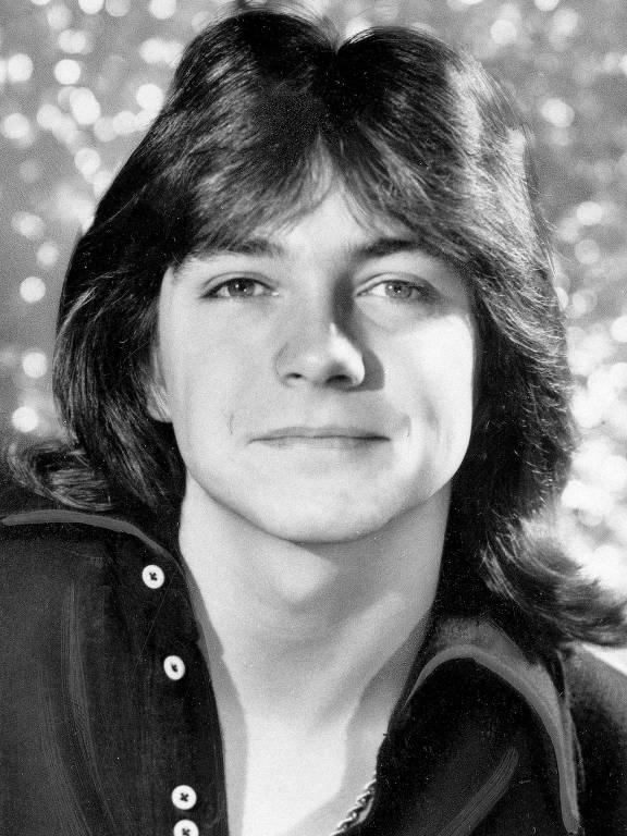 """David Cassidy,conhecido pelo seu papel como Keith Partridge em """"The Partridge Family"""""""