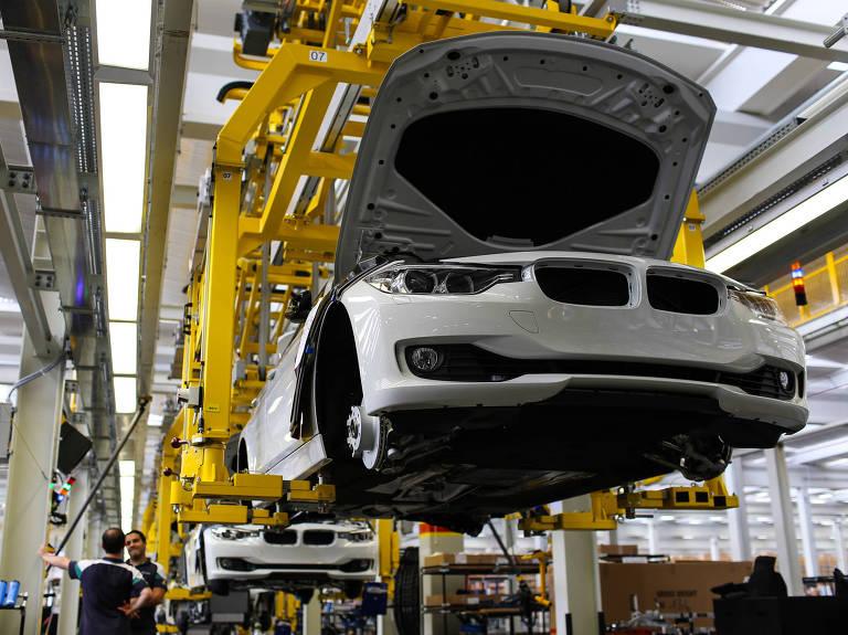 Fábrica da BMW em Araquari (SC) – Divulgação