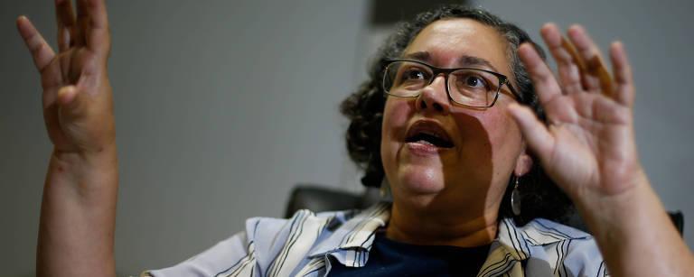 Suely Araújo, presidente do Ibama, em seu gabinete na sede do órgão, em Brasília – Pedro Ladeira/Folhapress