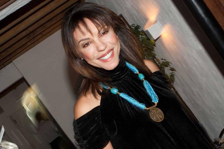 Marcia Goldsmith no aniversário de 30 anos do promoter Caio Fischer, no restaurante Terrasse, no Itaim Bibi