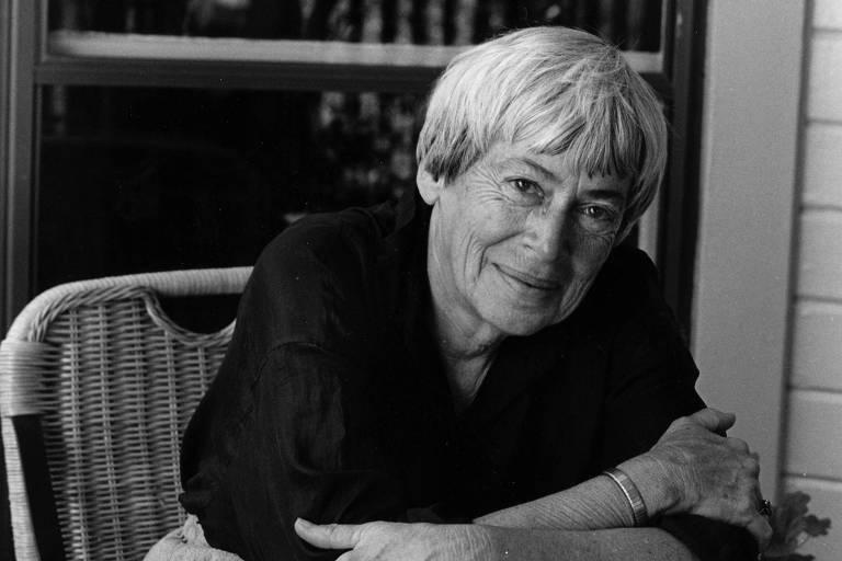 A escritora americana Ursula K. Le Guin