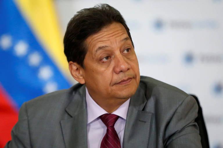 Asdrúbal Chávez, em 2015; primo de Hugo Chávez é novo presidente da Citgo, subsidiária da PDVSA