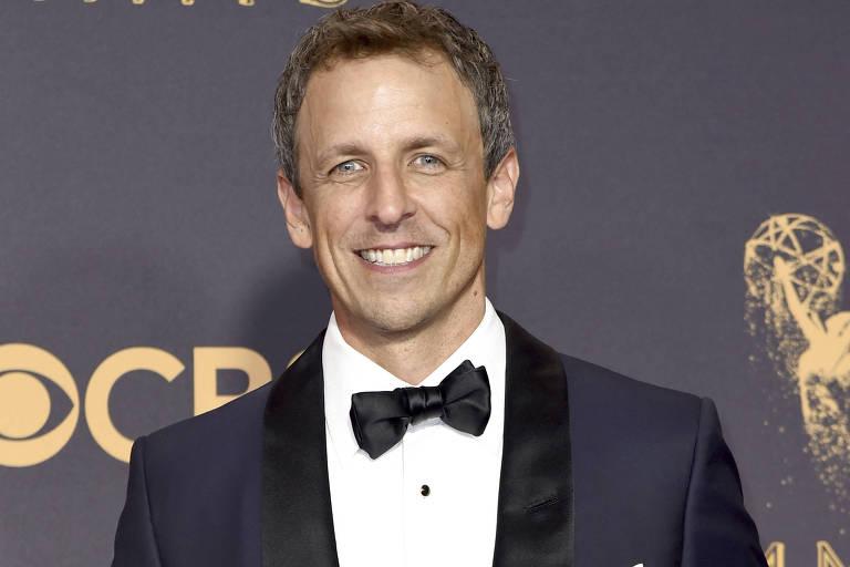 O comediante e apresentador de TV Seth Meyers será o apresentador da 75ª edição do Globo de Ouro, em 2018