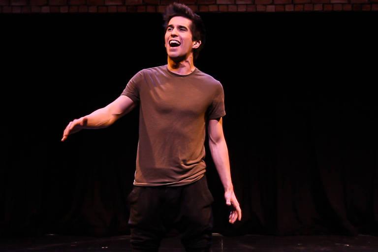 Mateus Ribeiro durante teste para 'Peter Pan', musical em que será protagonista