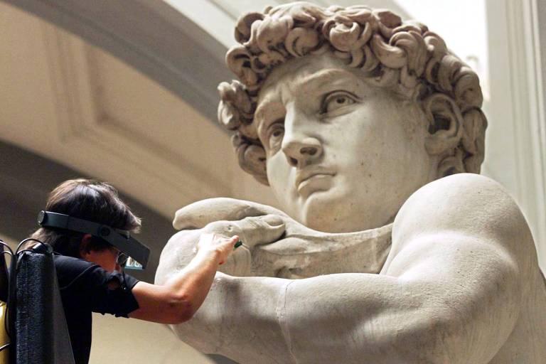 Davi, obra-prima de Michelangelo
