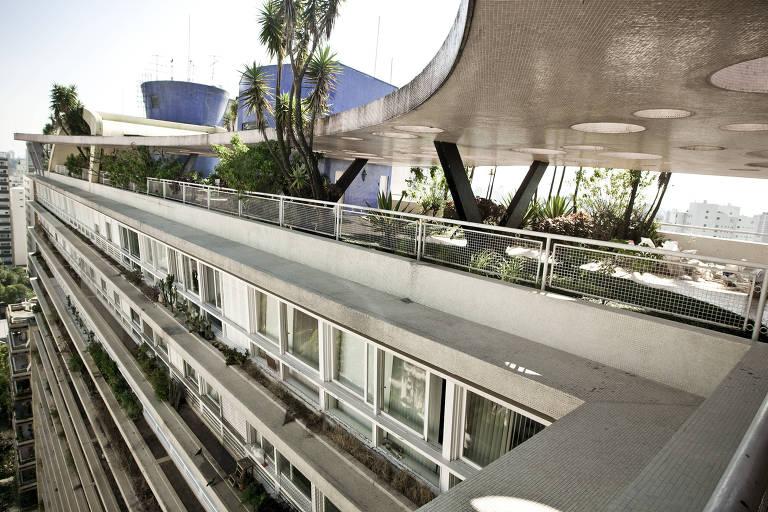 Edifício Bretagne, no centro de São Paulo