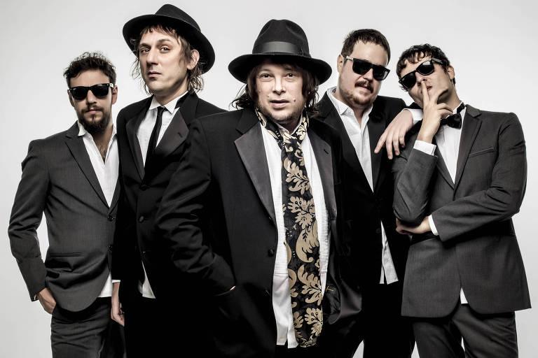 A banda de rock Cachorro Grande toca neste s�bado (25) �s 18h30 no MIS