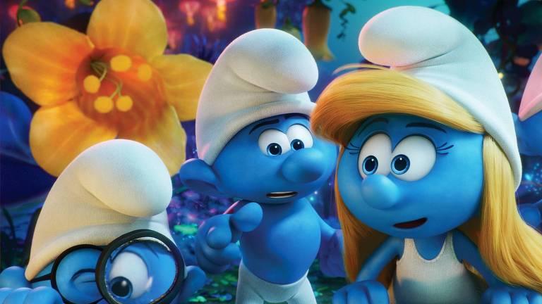 Cena do filme 'Smurfs e a Vila Perdida'