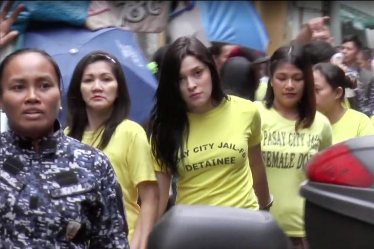 Yasmin Silva, uma brasileira presa nas Filipinas