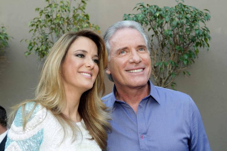 Roberto Justus e Ticiane Pinheiro, pais de Rafaella