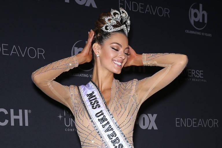 Demi-Leigh Nel-Peters foi a vencedora do Miss Universo 2017