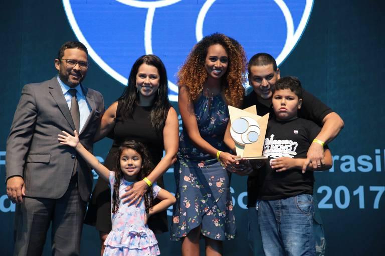 A iniciativa Sinfonia, que também levou troféu na cerimônia da 9ª edição do Prêmio FBB de Tecnologias Sociais