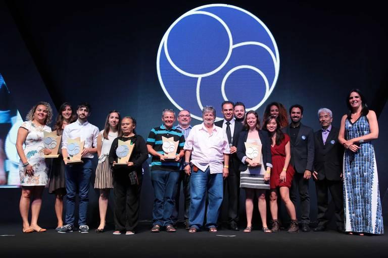 Os vencedores das sete categorias na cerimônia da 9ª edição do Prêmio FBB de Tecnologias Sociais