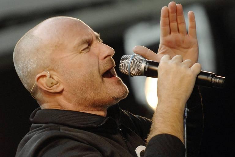 O britânico Phil Collins se apresenta em São Paulo nos dias 24 e 25 deste mês