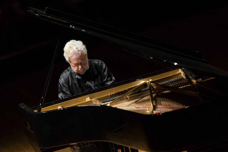 O pianista Nelson Freire, que se apresenta nesta terça no Theatro Municipal de SP