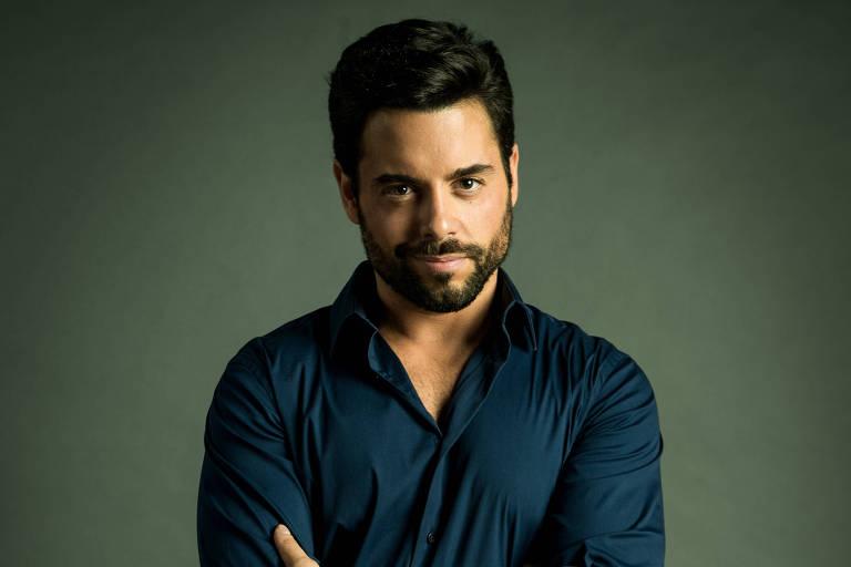 """Amaro (Pedro Carvalho), personagem de """"O Outro Lado do Paraíso"""" (Globo)"""