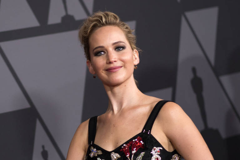 Jennifer Lawrence no Governors Awards em 2017