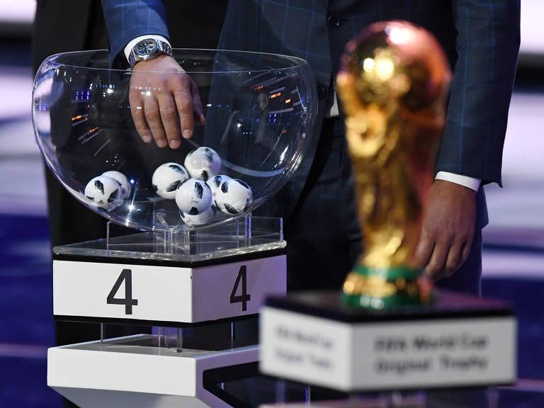Como foi o sorteio de grupos da Copa de 2018