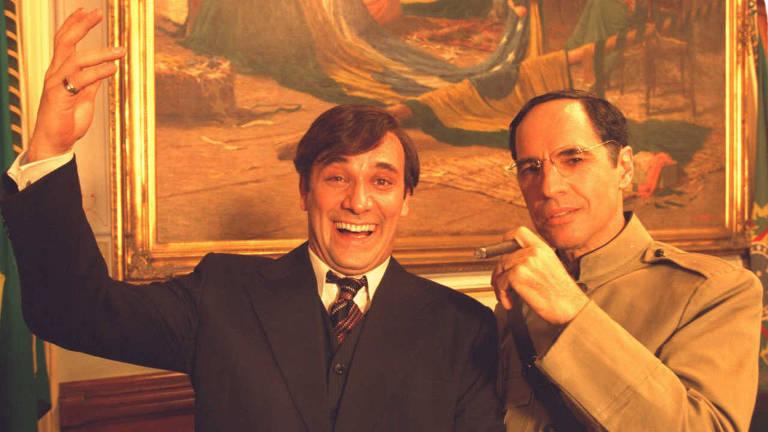Marco Ricca e Paulo Betti, em cena do filme 'Chatô, o Rei do Brasil'