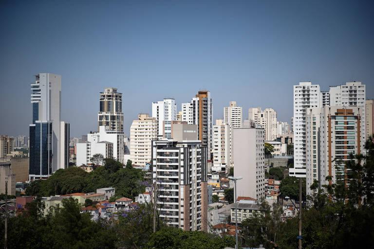 Prédio em bairro na zona norte de São Paulo