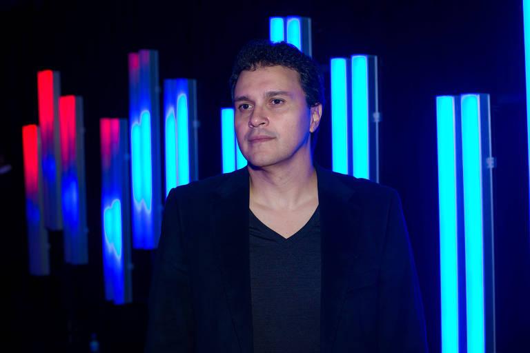 O presidente da Universal Music Brasil, Paulo Lima