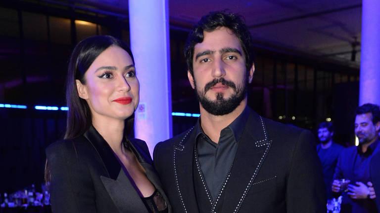 Thaila Ayala e Renato Góes participam do 7º Prêmio GQ Brasil Men Of The Year 2017