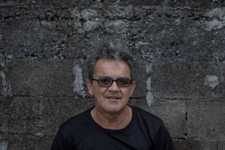 Luiz Gustavo de Oliveira, 59, que recebeu um novo cora��o h� 25 anos