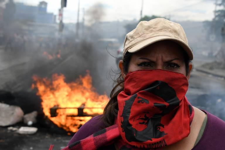 Protestos em Honduras
