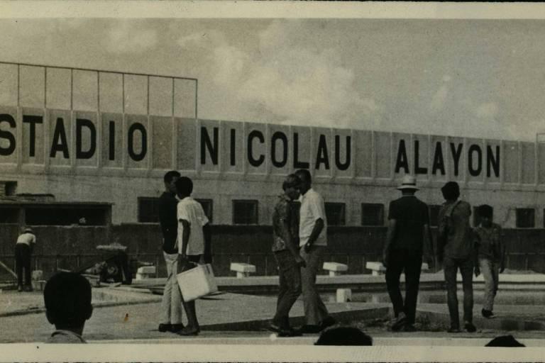 O estádio Nicolau Alayon