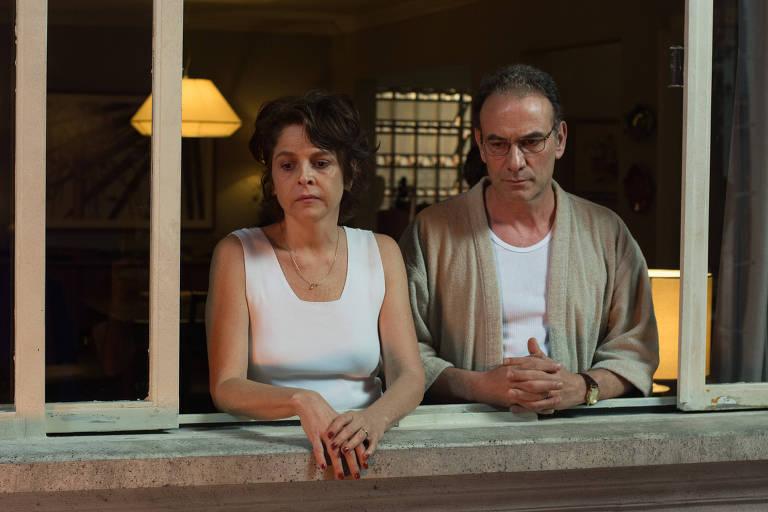 Drica Moraes e Marco Ricca em cena do filme 'Rasga Coração', de Jorge Furtado