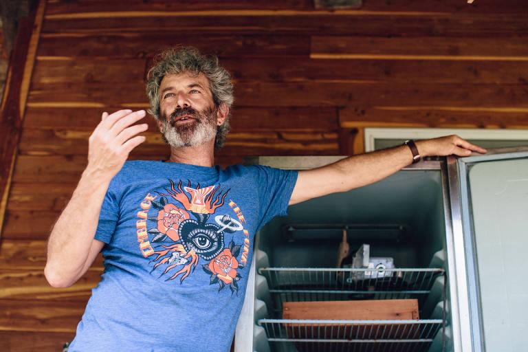 Sandor Katz, 55, escritor e entusiasta da fermentação